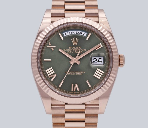 Rolex Day-Date 40MM Olive Green Dial
