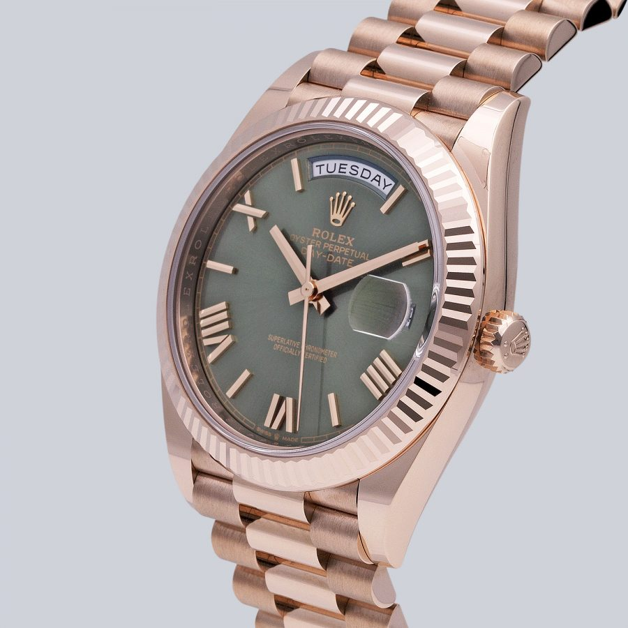 Day-Date 40MM Olive Green Dial
